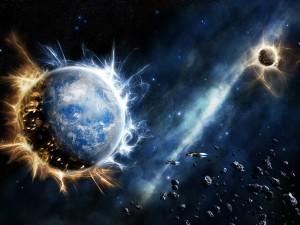 Un Tsunami cosmique peut-il détruire la Terre ? 太空 海啸 破坏 地球